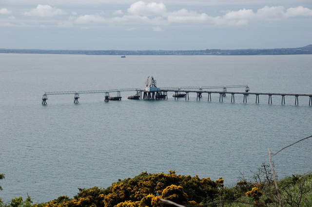 Cloghan jetty, Belfast Lough