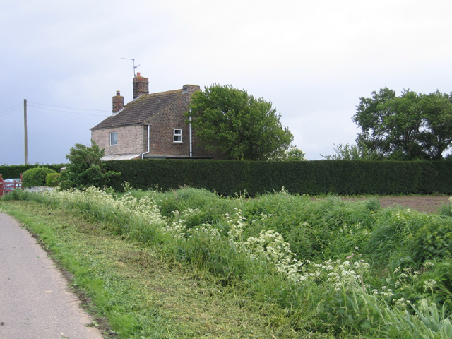 Burnt House, Peter Seadyke Lane, Surfleet, Lincs