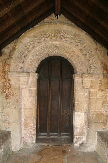 Norman doorway, St.Thomas' church