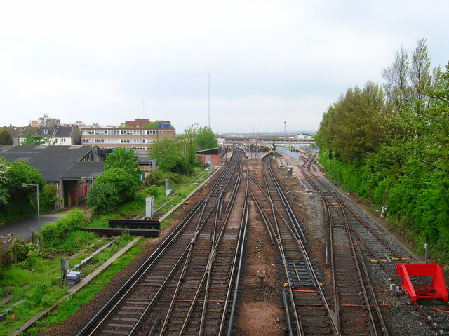 Towards Hove Station