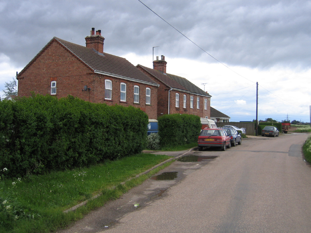 Houses on Hipper Lane, Wigtoft, Lincs