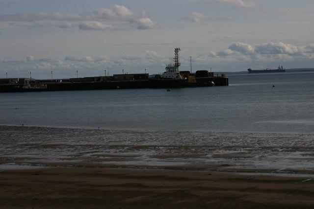 Pier in Scapa Bay