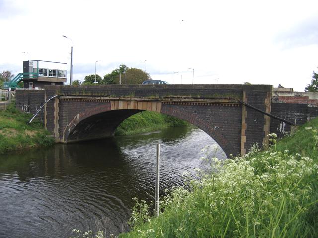 Bridge over the South Forty Foot Drain, Hubbert's Bridge, Lincs