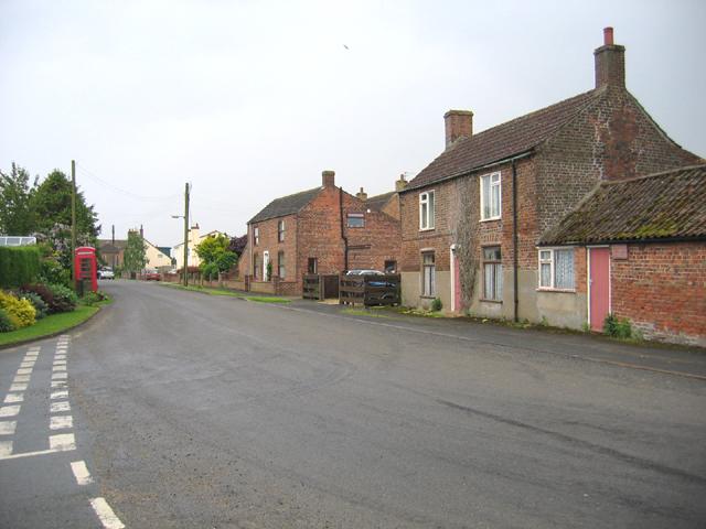 Village centre, Kirton Holme, Lincs