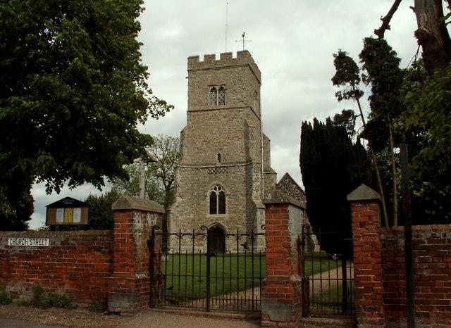 St. Peter's church, Goldhanger, Essex