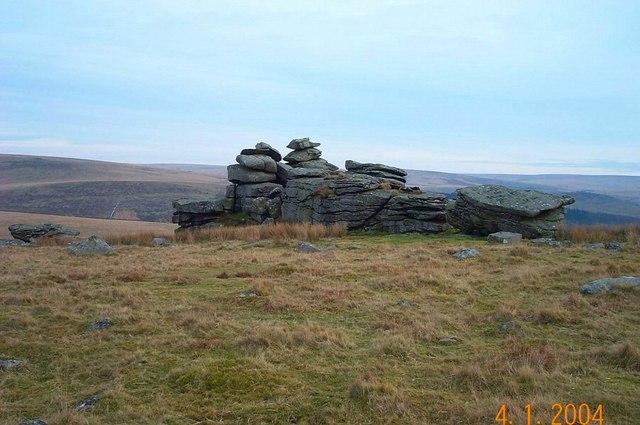 Leeden Tor - Dartmoor