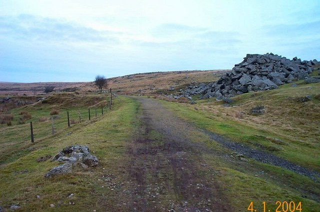 Remains of railway halt - Dartmoor