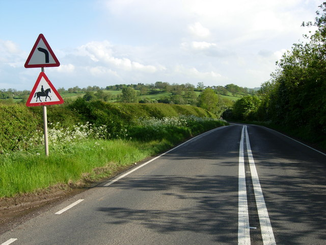 A5199 north of Husbands Bosworth