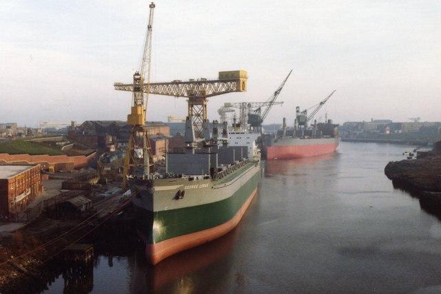 Sunderland shipbuilding, 1983.