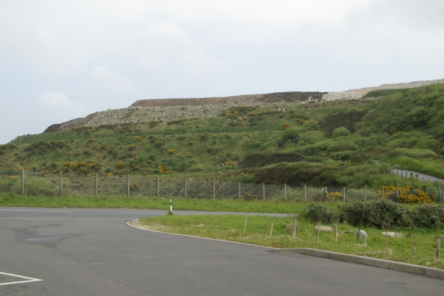 China Clay Spoil Tip