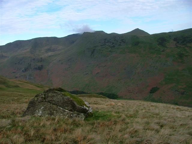 View of Striding Edge from Birks