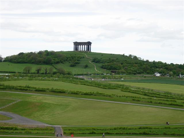 Penshaw Monument as seen from Herrington Country Park