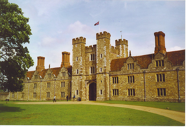 The Main Gate, Knole House.