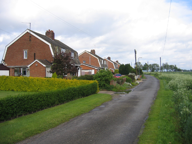 Roper's Lane 'council houses', Sutterton, Lincs