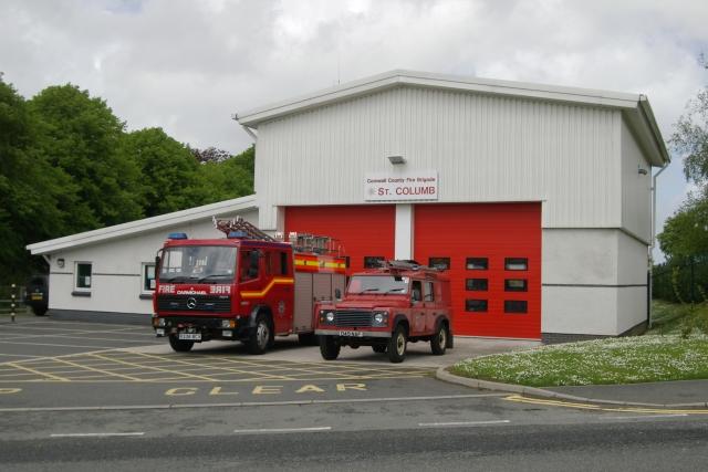 St Columb Fire Station