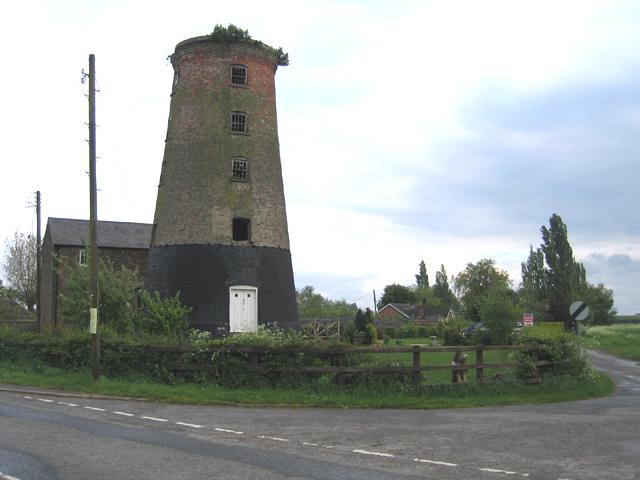 Tower windmill, Sutterton, Lincs