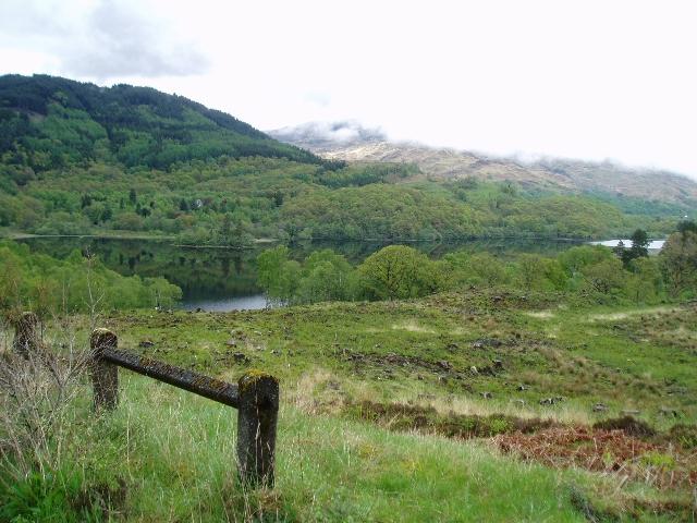 Looking NE over Loch Achray