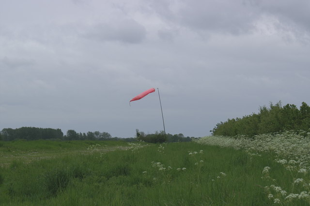 Field with Windsock