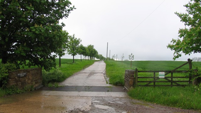 Entrance to Nether Court Farm