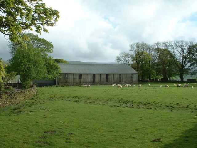 Farm buildings at Hafod-y-dre-isaf