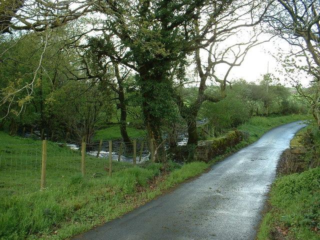 Bridge over Afon Gwrysgog