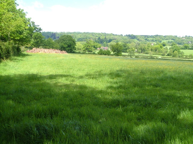 Romshed Farm from Bank Lane