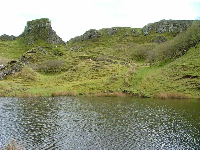 Lochan,Dyke and Castle
