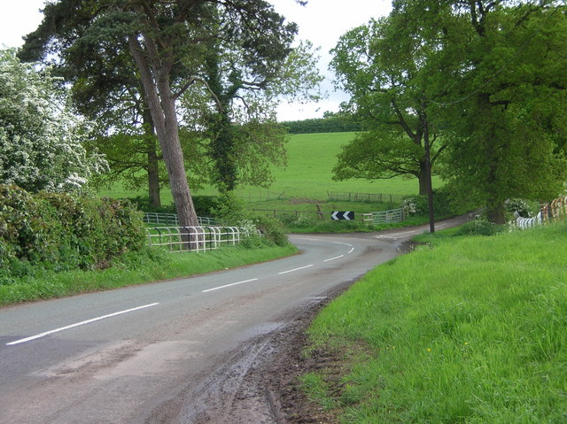 Fishpool Road near Utkinton (Tarporley, Cheshire)