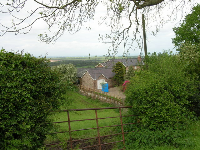 Countryside near Utkinton in Cheshire.