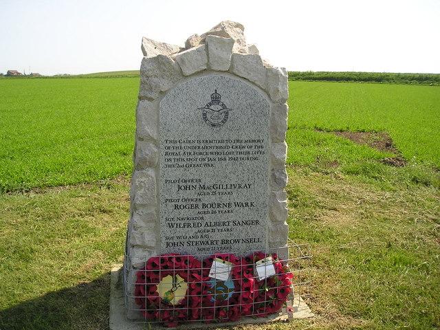 Norfolk Memorial. Bacton