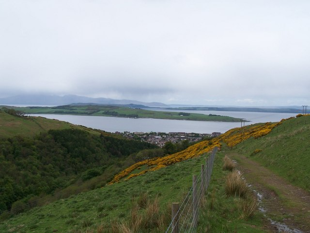 Largs, View from Gogo Glen