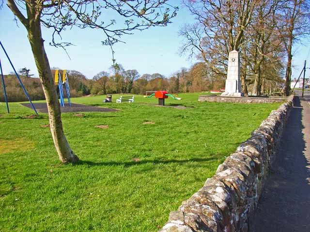 Recreation Ground and War Memorial, Glenluce