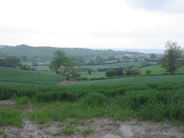 View from Hewell Lane