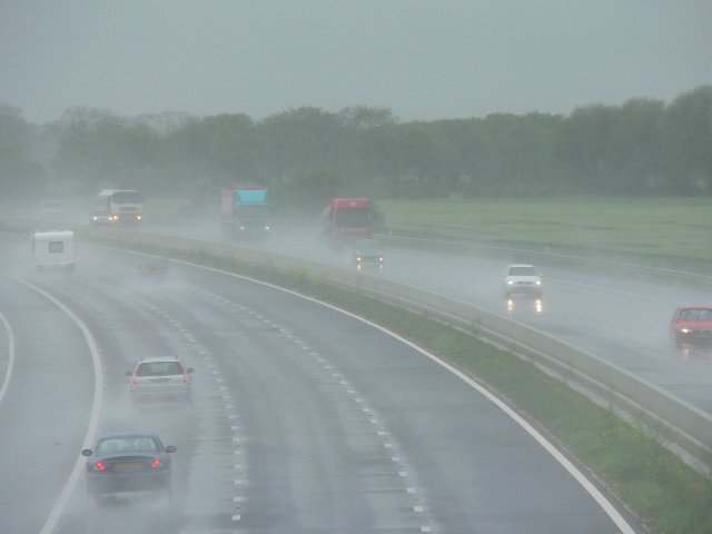 M62 from Leavens Lane Bridge