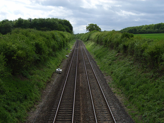 Railway at Overton