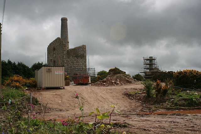 Engine Houses by Newton Road, Troon