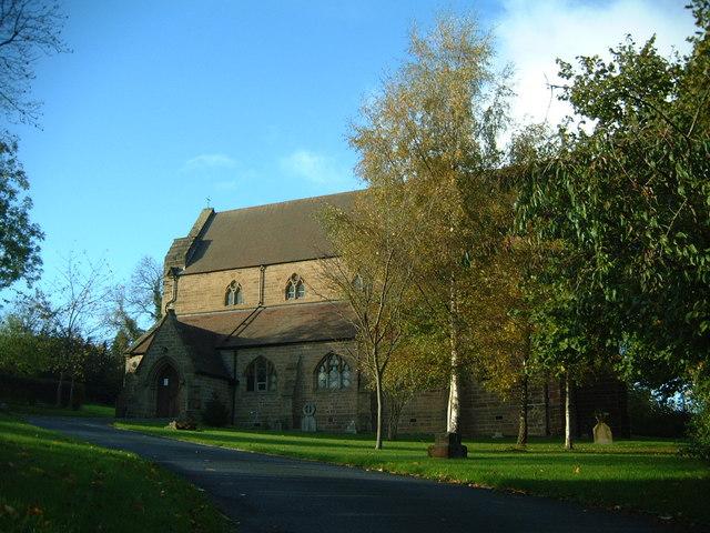 St Mary's Catholic Church, Madeley