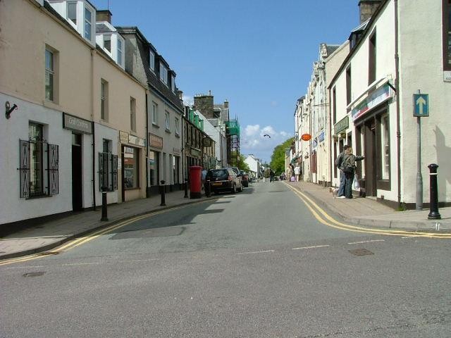 Wentworth Street.