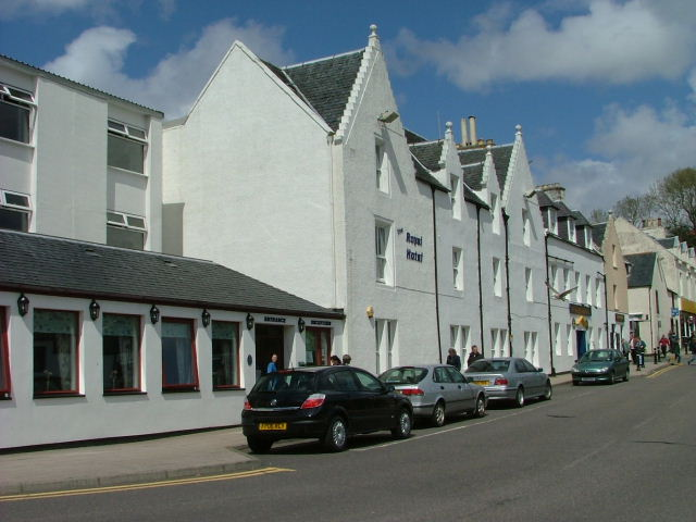 The Royal Hotel. Portree
