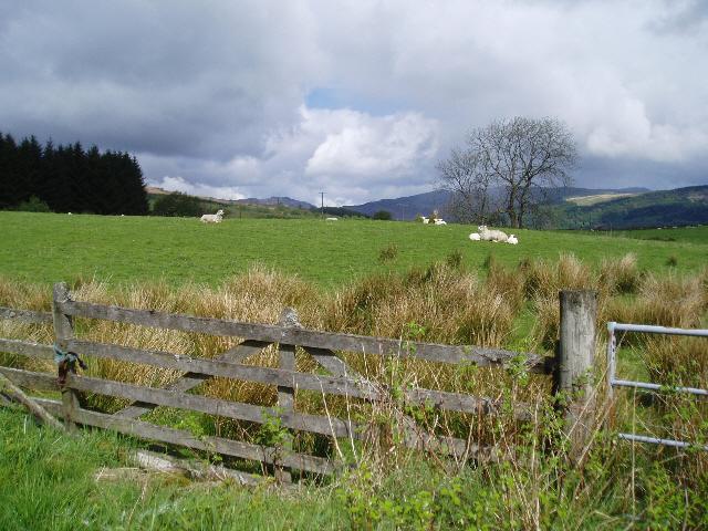 Farmland near Callander