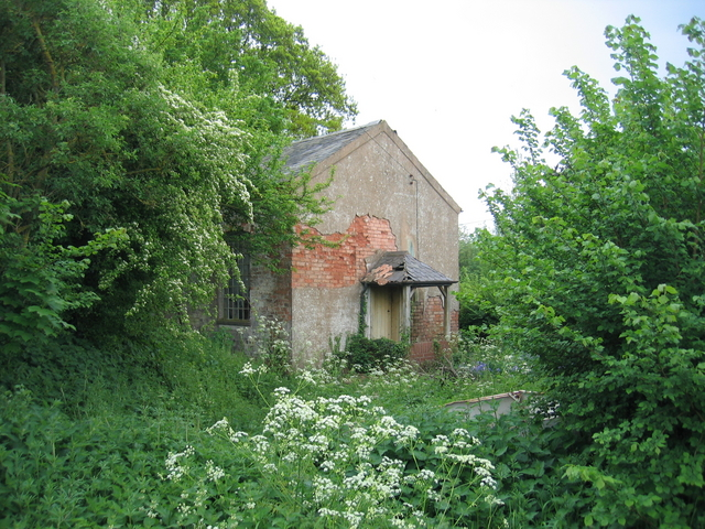 Abandoned church, Cruise Hill