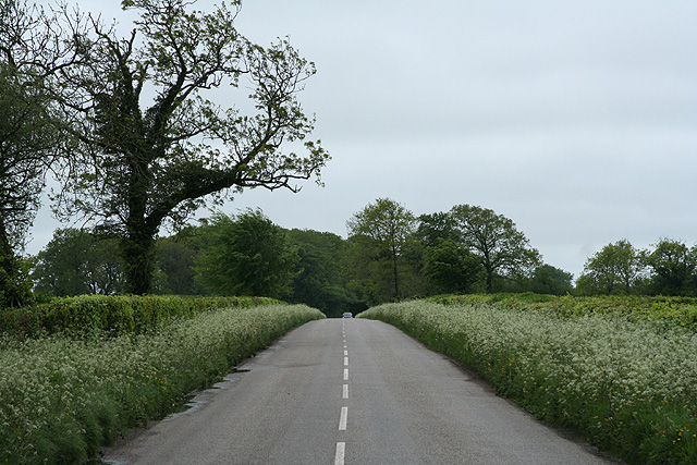 Churchstanton: Taunton � Honiton road