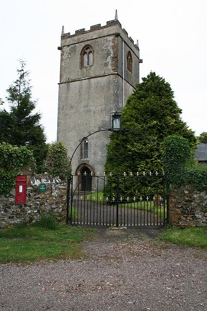 Churchstanton:  church of St Peter and St Paul