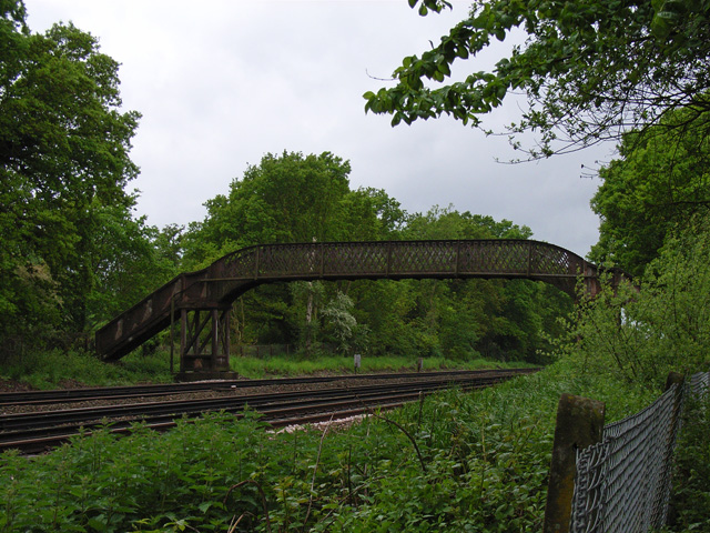 Footbridge at Old Basing