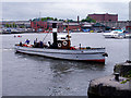 ST5772 : The Mayflower, Floating Harbour by Linda Bailey