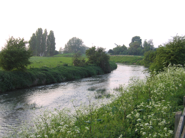The River Ivel at Biggleswade, Beds
