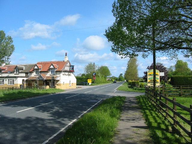 The Black Bull A169 Near Pickering