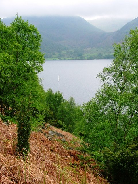 Ullswater From Below Kilbert  How