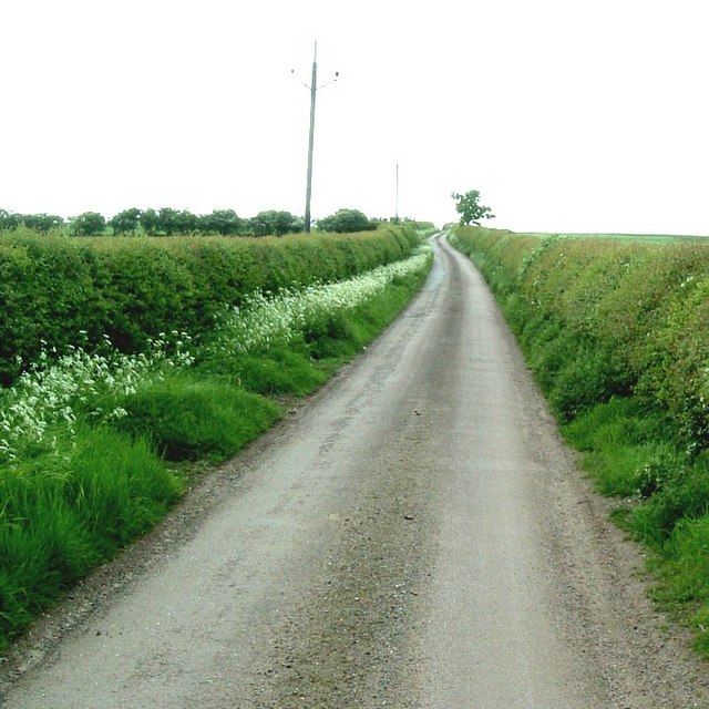 Lane to Hill Farm, Battlesden