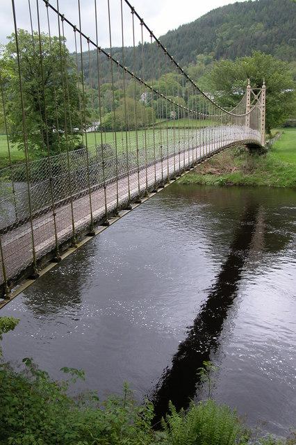Footbridge over the River Conwy, Betws-y-Coed